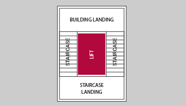 Ugradnja lifta pozicija 1