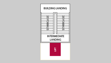 Ugradnja lifta pozicija 6