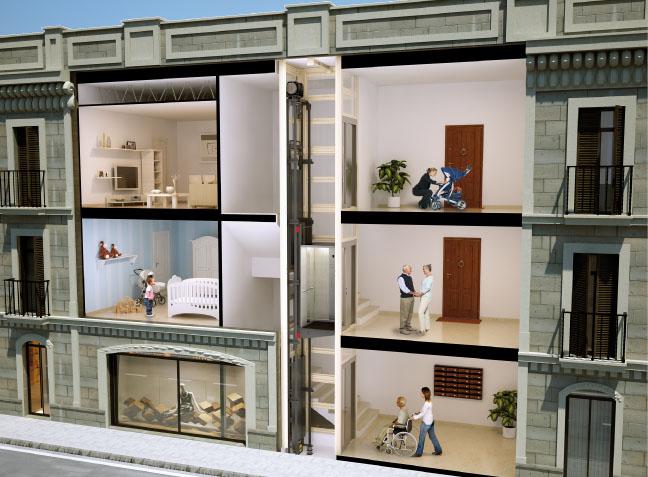 Rješenje za zgrade bez lifta